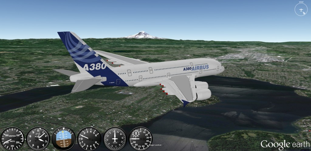 up and running with Google Earth Flight Simulator Online