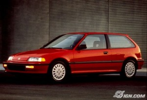 Civic Si in 1989.